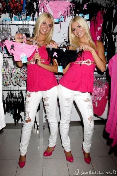 Gražiausios dvynukės