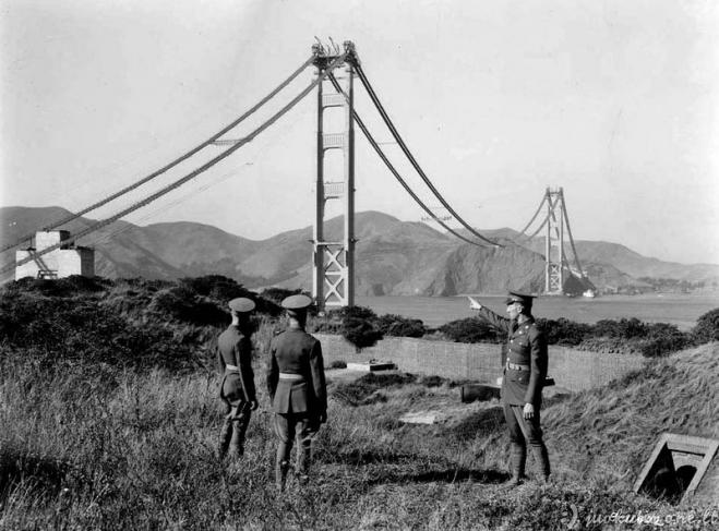 Auksinių vartų statybos 1933-1937