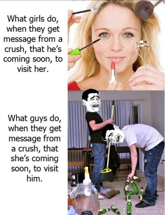 Moterys prieš vyrus
