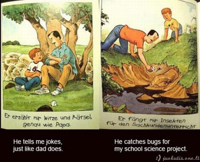 Vaikiška knyga apie homoseksualumą