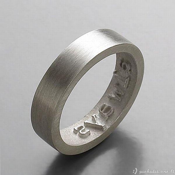 Žiedai su meile