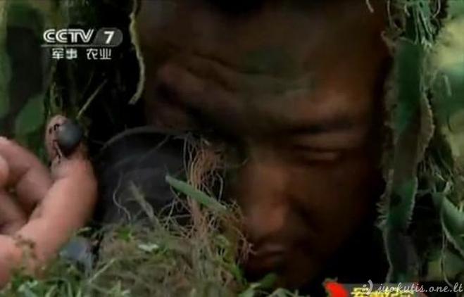 Kinijos snaiperių treniruotės