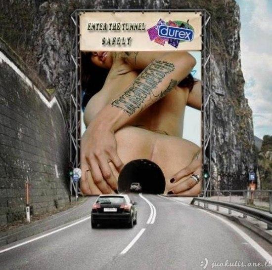 Seksualiausi reklaminiai plakatai
