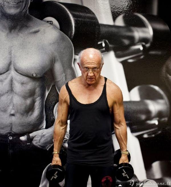 72 metų ir puikios fizinės formos