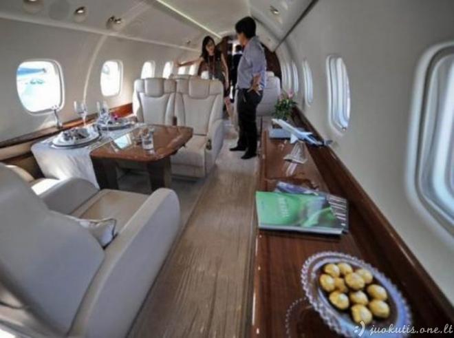 Asmeninis Džekio Čiano lėktuvas
