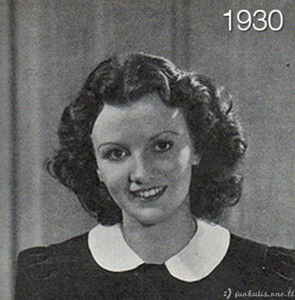 Moterų plaukų evoliucija