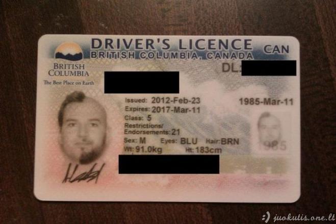 Nauja nuotrauka vairuotojo pažymėjimui