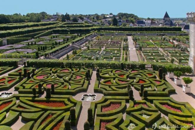 Romantiški Prancūzijos sodai