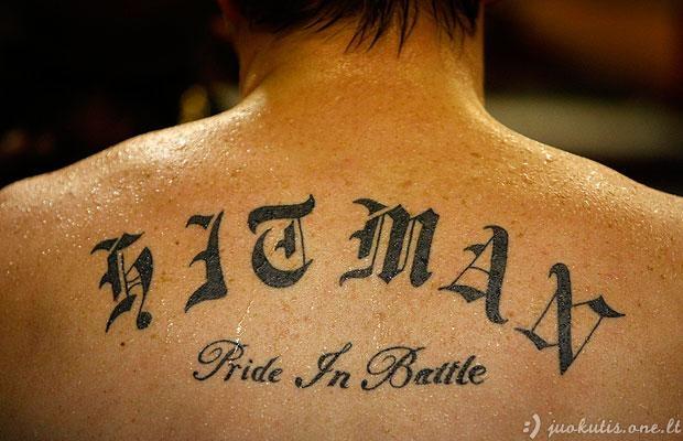 Sportininkų tatuiruotės