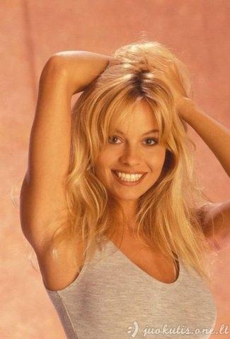 Pamela Anderson jaunystėje