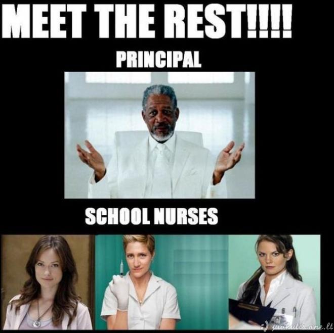 Geras mokytojų kolektyvas