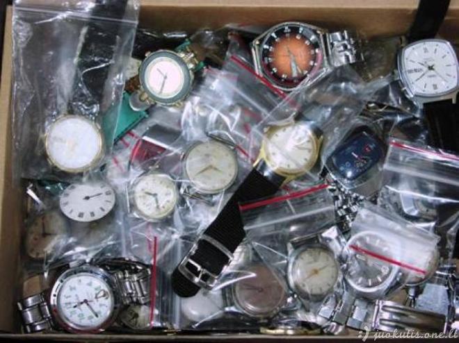 Antras senų laikrodžių gyvenimas