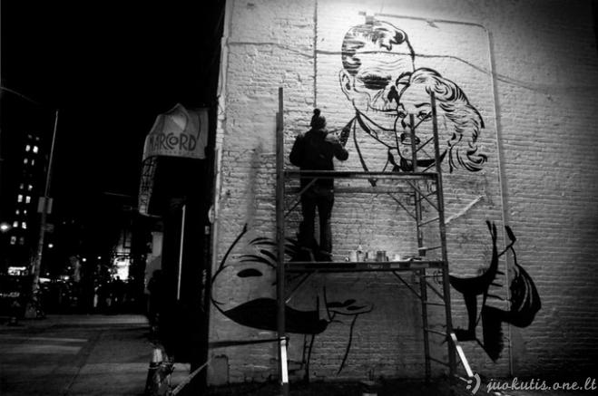 Gatvės menininkas D*Face