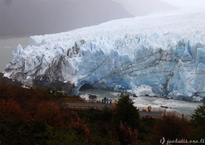 Gražus Perito Moreno ledynas