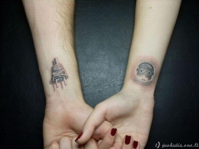 Blogos tatuiruotės
