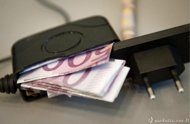 Kur reikia slėpti pinigus