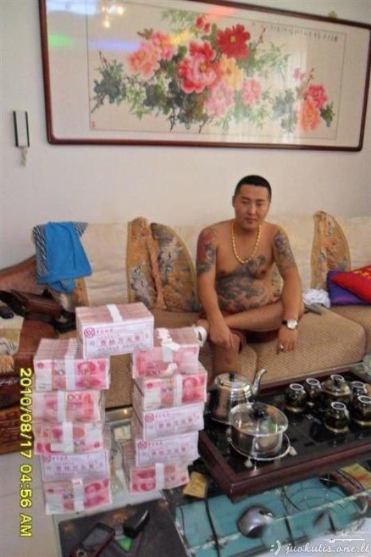 Viena diena iš Kinijos gangsterio gyvenimo