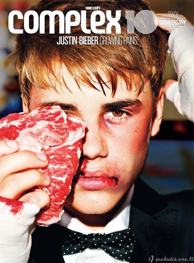 Džastinas Bieberis pagaliau gavo į snukį