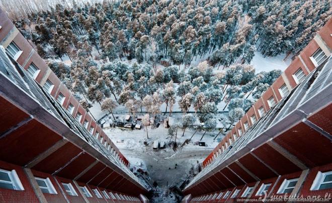 Gražios roof'erių nuotraukos