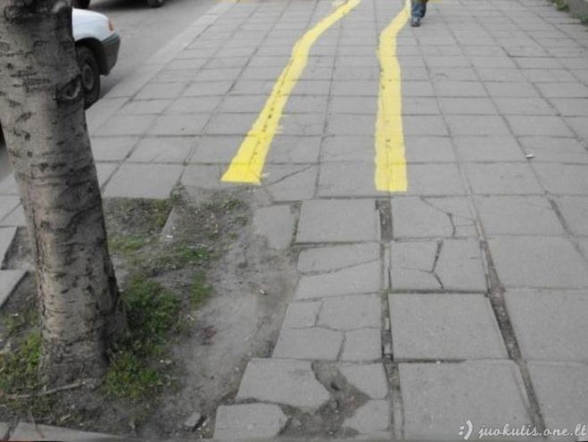 Blogiausių dviračių takelių šalis