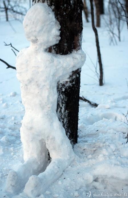 Paskutinis žiemos apkabinimas