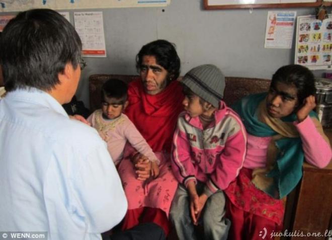 Vilkolakių šeima Indijoje