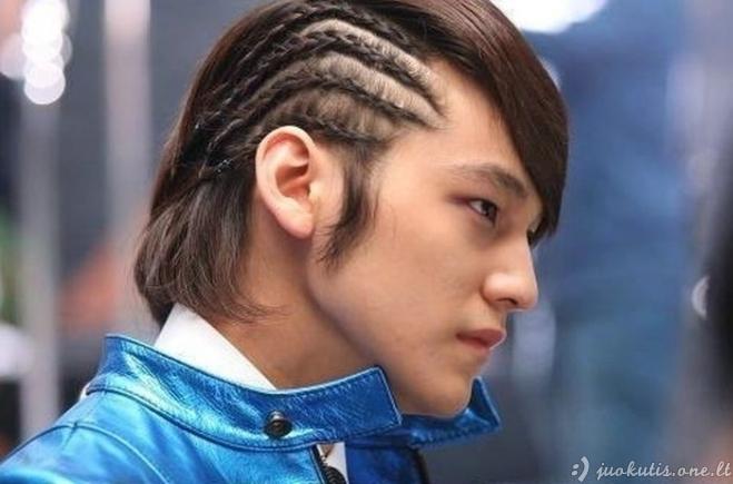 Beprotiški azijiečių plaukai