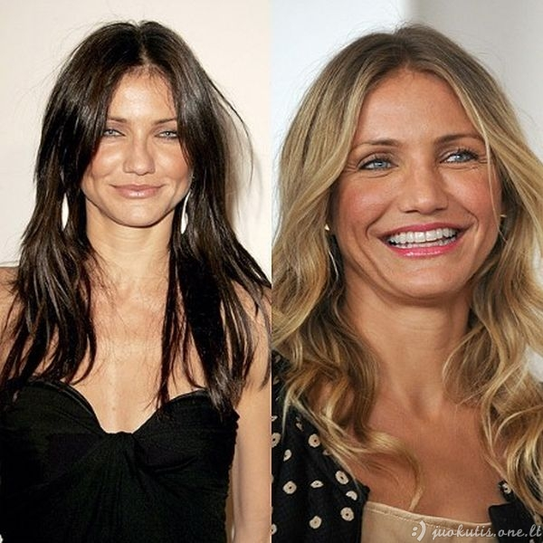 Blondinės ar brunetės?