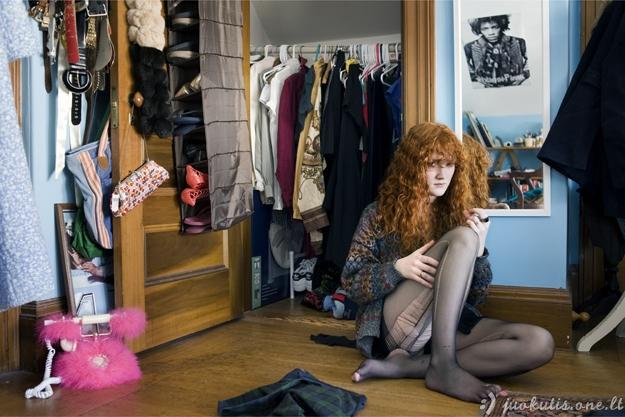 Mergaitės ir jų kambariai