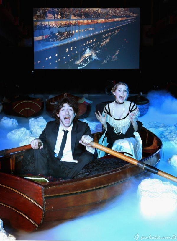 Kaip reikia žiūrėti Titaniką