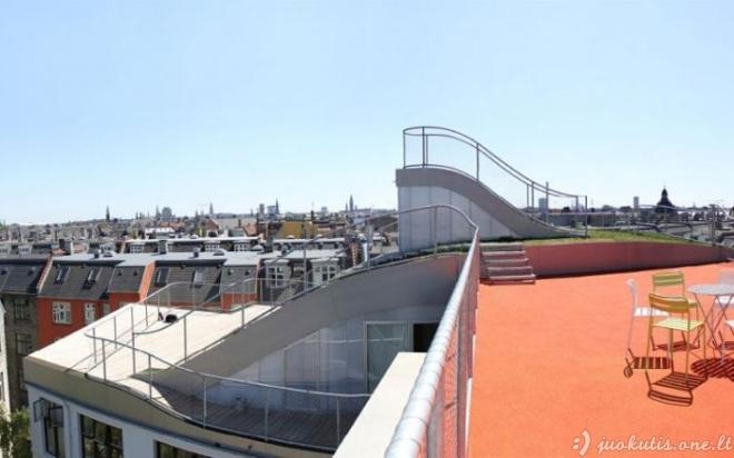 Linksmybių stogas Kopenhagoje