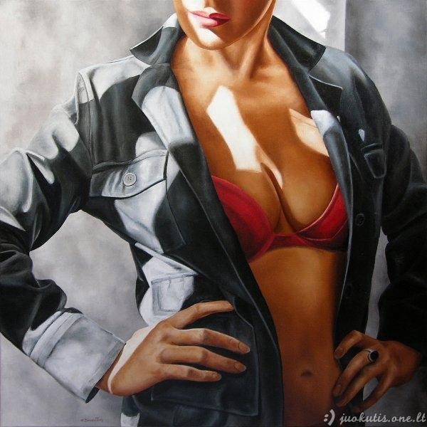 Annick Bouvattier paveikslai apie moters grožį