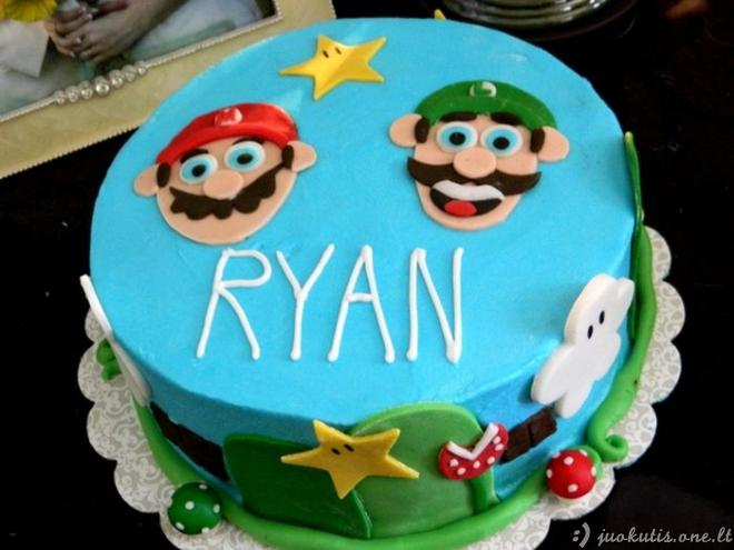Tortas Super Mario