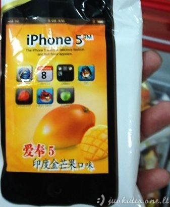 iPhone 5 iš Kinijos