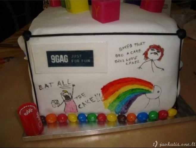 Geriausias gimtadienio tortas