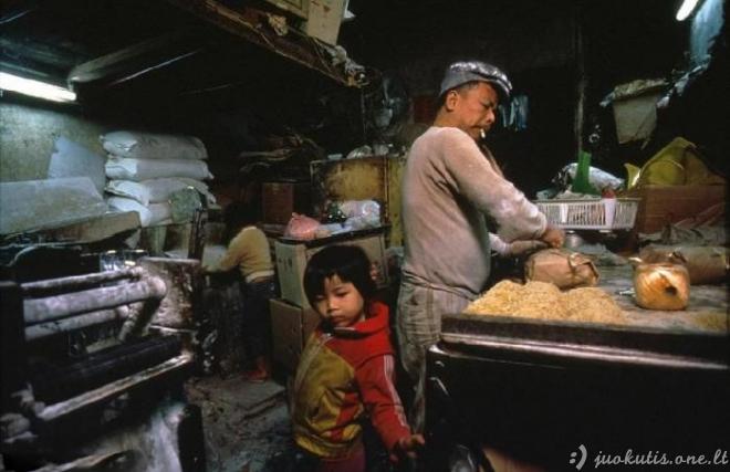 Paslaptingas Kowloon miestas