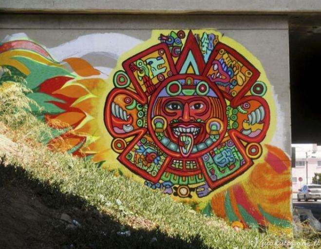 Geriausias balandžio mėnesio grafitis