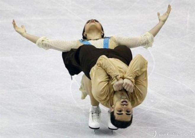 Gražūs sporto momentai