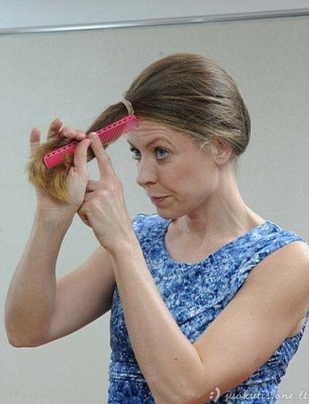 Kaip lengvai nusikirpti plaukus