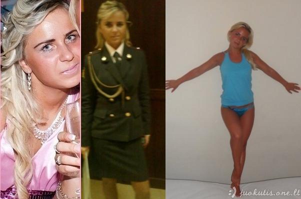 Policininkės Rusijoje