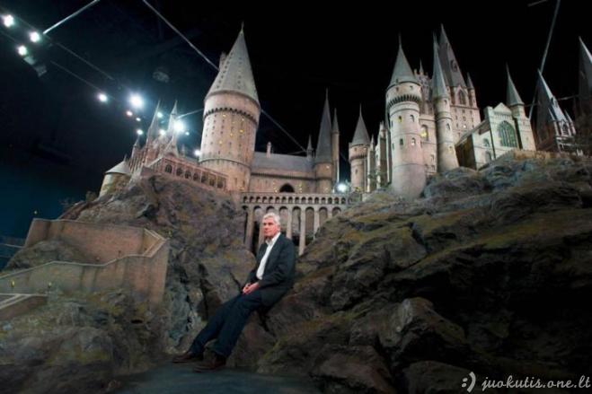 Hogvartso pilis realybėje