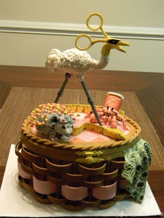 Kietai atrodantys tortai