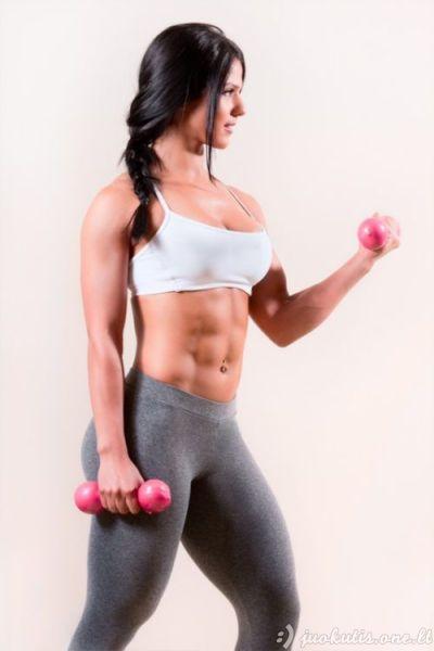 Atletiškos merginos