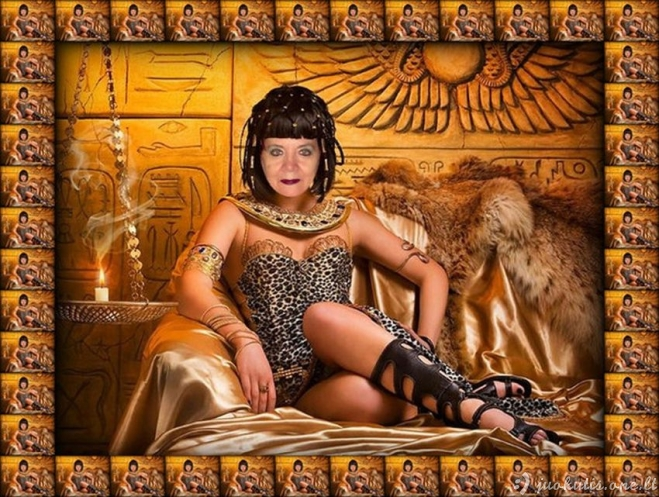 Nuostabioji Nina - fotošopo deivė