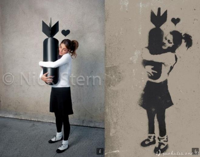 Banksy menas realybėje