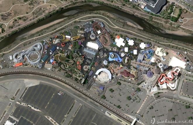 Nuostabūs vaizdai iš Google Earth