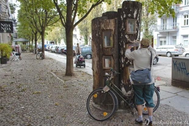 Neįprasti automatai Berlyno gatvėse