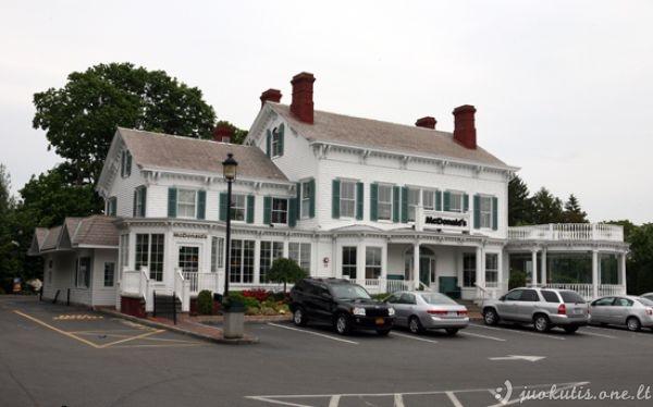 Dienos mįslė: koks restoranas įsikūrė šiame mielame name