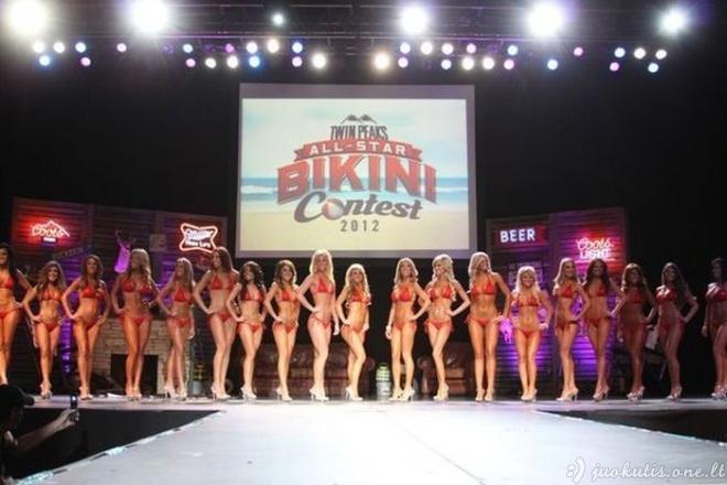 Miss Twin Peaks maudymukų konkursas