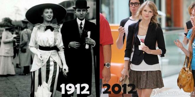 Ko mes pasiekėme per 100 metų
